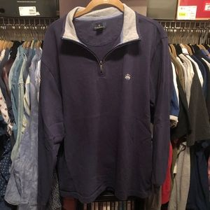 Brooks brothers quarter zip polo